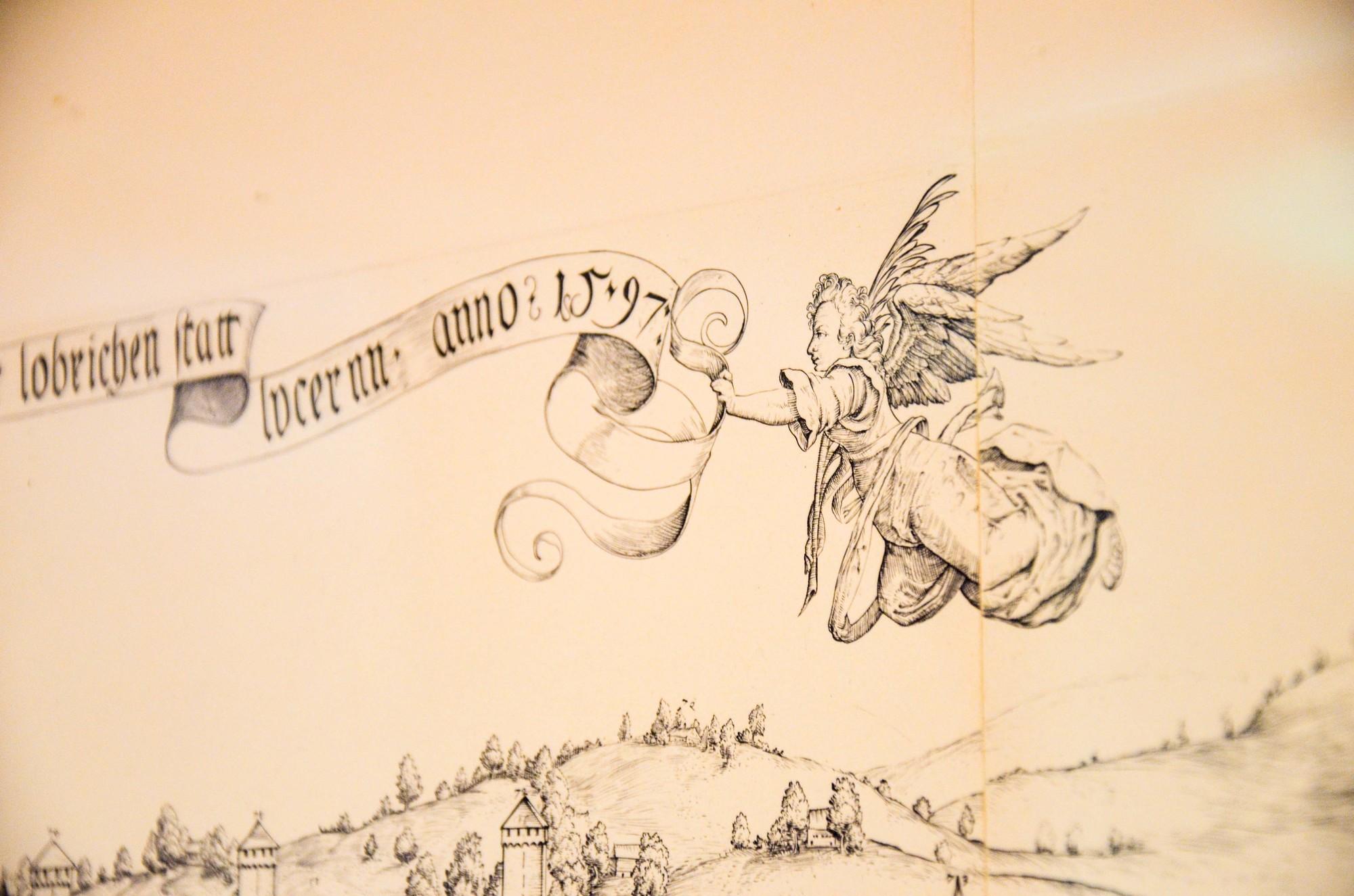 das historische Hotel Schlüssel Luzern