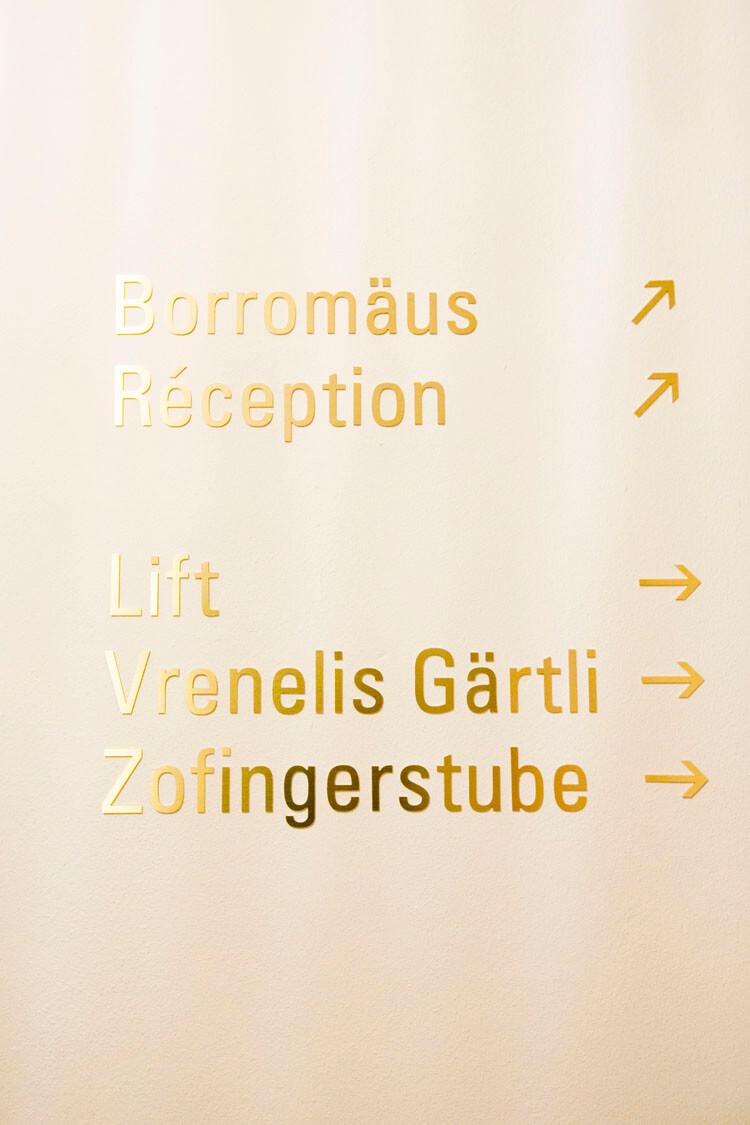 Restaurants Borromäus und Vrenelis Gärtli im Schlüssel Luzern