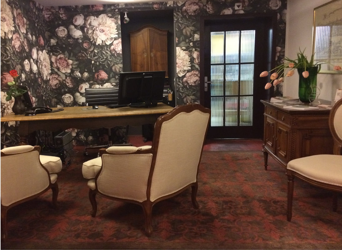Lobby im Hotel Schlüssel Luzern