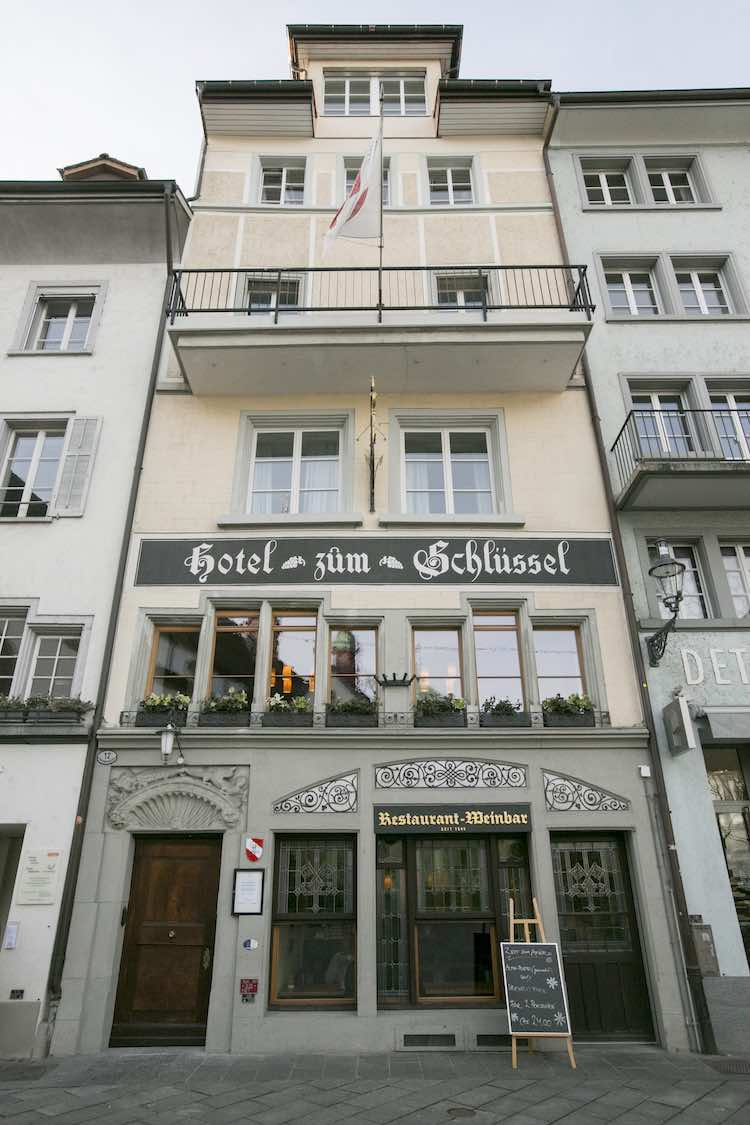 Klein und fein, das Hotel Schlüssel Luzern